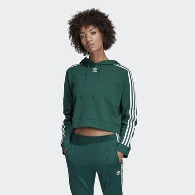 Sweat-shirt à capuche Cropped Sweat-shirt à capuche Cropped adidas Originals