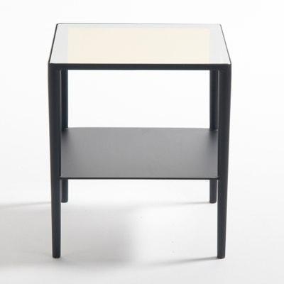 Tavolino, acciaio e vetro, Razzi Tavolino, acciaio e vetro, Razzi La Redoute Interieurs