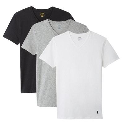 364b18ac6e263 T-shirt col V, lot de 3 T-shirt col V, lot. POLO RALPH LAUREN