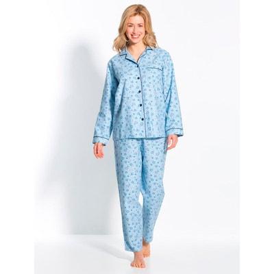 f8b5ea44f9b98 Pyjama en flanelle pur coton THERMOVITEX