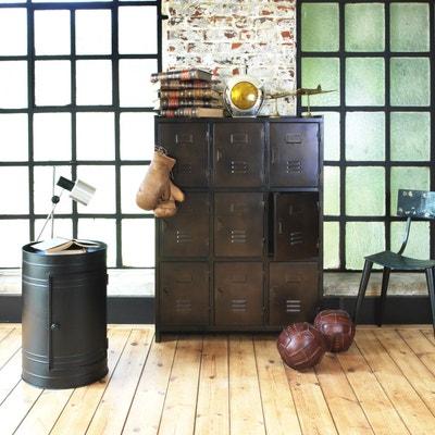 Armoire industrielle 9 casiers, marron cuivré  |  S99 Armoire industrielle 9 casiers, marron cuivré  |  S99 MADE IN MEUBLES
