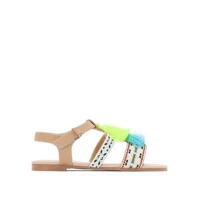 Sandalias con borla fluorescente, del 26 al 39 La Redoute Collections