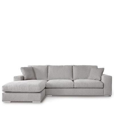 Canapé d'angle gauche tissu Pescara DRAWER