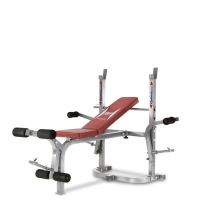 banc de musculation la redoute