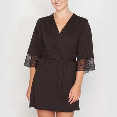 Short Kimono Cotton Negligée CASTALUNA