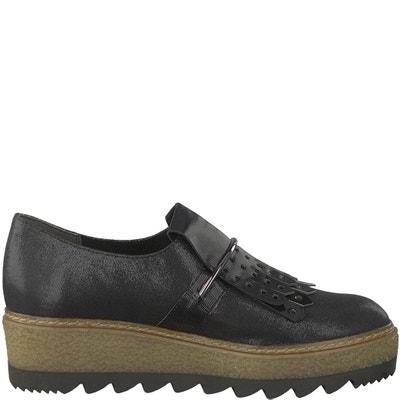 Badam Loafers with Zig-Zag Sole TAMARIS