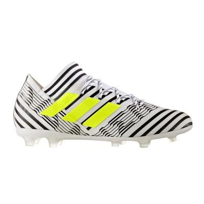 5c7b7ac5037a0 Chaussures football adidas Nemeziz 17.2 FG Blanc Noir adidas Performance