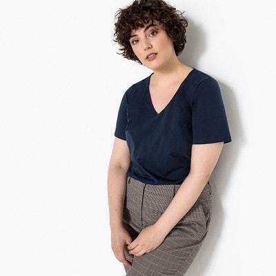 Short-Sleeved V-Neck T-Shirt Short-Sleeved V-Neck T-Shirt CASTALUNA
