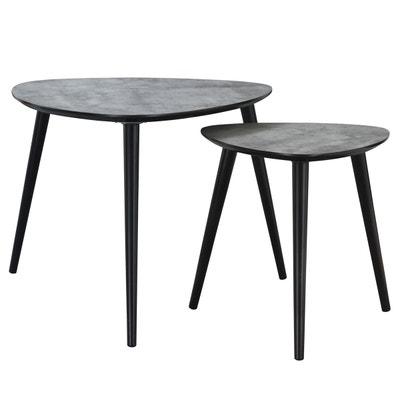 Table basse Scandinave effet béton (lot de 2) Table basse Scandinave effet béton (lot de 2) RENDEZ VOUS DECO