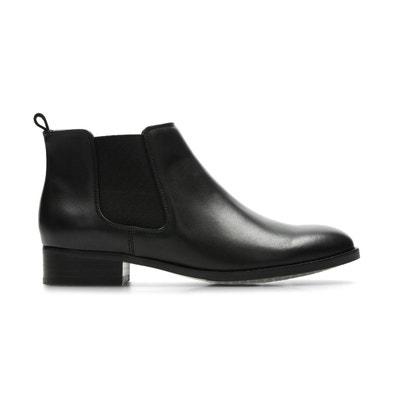 2b78faaec4f1a Boots cuir Netley Ella Boots cuir Netley Ella CLARKS