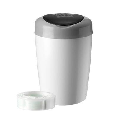 Cubo de basura para pañales Simplee Sangenic Blanc Cubo de basura para pañales Simplee Sangenic Blanc TOMMEE TIPPEE