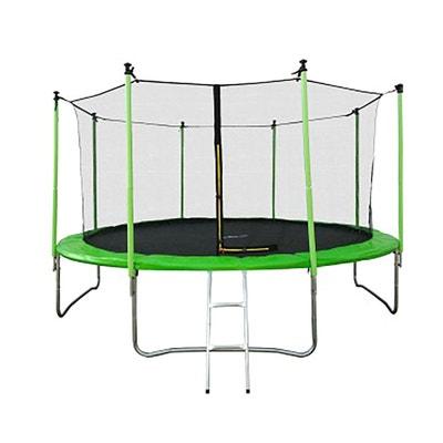 Trampoline Jump4Fun Classique 14FT 12 Perches Vert JUMP4FUN
