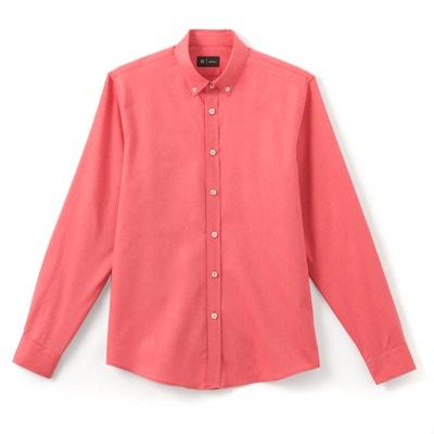 Regular Fit Oxford Weave Cotton Shirt Regular Fit Oxford Weave Cotton Shirt La Redoute Collections