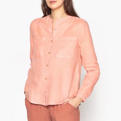 Linea Straight Shirt in Linen HARRIS WILSON