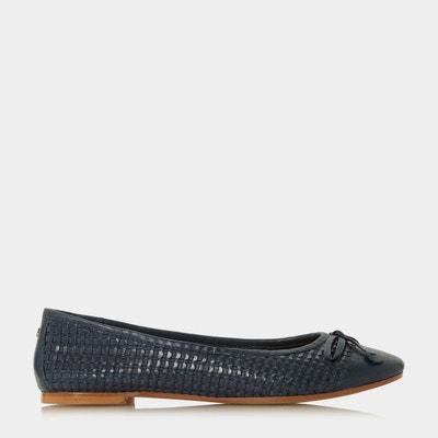 Chaussures à plateformes lacets et bout carré - flawless  Dune Black  La Redoute