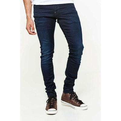 2cd978f47504e Jeans G Star Revend Super Slim Bleu Fonce Delave Homme G STAR