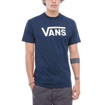 Bedrucktes T-Shirt mit Logo, rudner Ausschnitt Bedrucktes T-Shirt mit Logo, rudner Ausschnitt VANS