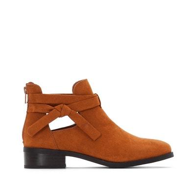 Boots détail bijou talon doré - La Redoute Collections - CamelLa Redoute Collections 7yEijn