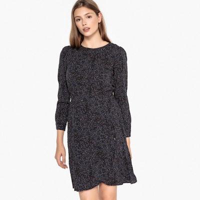 Polka Dot Print Dress with Elasticated Waist Polka Dot Print Dress with Elasticated Waist BEST MOUNTAIN