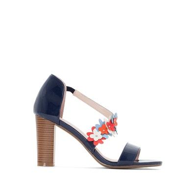 Flower Detail Heeled Sandals Flower Detail Heeled Sandals MADEMOISELLE R