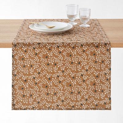 Bedrukte tafelloper katoen/linnen LONIE La Redoute Interieurs