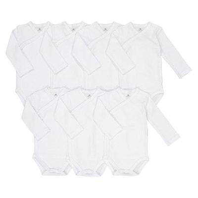Lot de 7 bodies en coton Préma – 2 ans Lot de 7 bodies en coton Préma – 2 ans La Redoute Collections