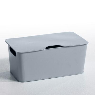 ARREGLO Stackable Metal Storage Box, Large ARREGLO Stackable Metal Storage Box, Large AM.PM