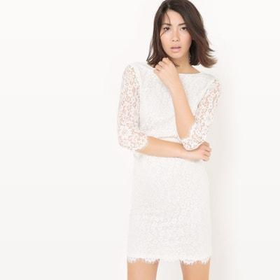 Plain Lace Dress Plain Lace Dress La Redoute Collections