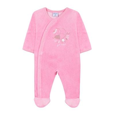 c4c17d00bb344 Pyjama velours 3 mois - 2 ans Pyjama velours 3 mois - 2 ans ABSORBA