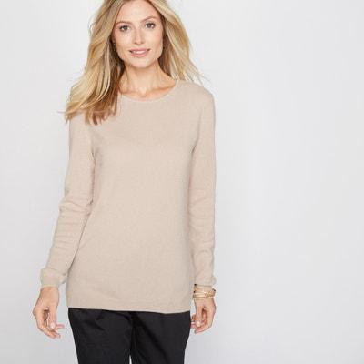 Pure Cashmere Round Neck Sweater ANNE WEYBURN