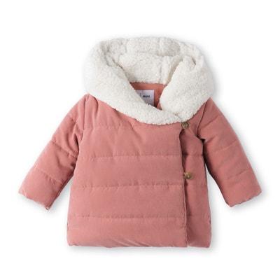 Piumino con cappuccio effetto pelliccia 1 mese - 3 anni Piumino con cappuccio effetto pelliccia 1 mese - 3 anni La Redoute Collections