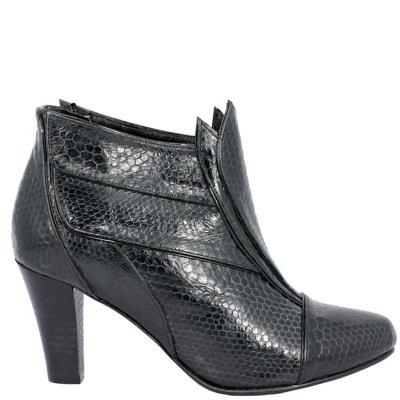 Chaussures femme en cuir BAOMA Black Chaussures femme en cuir BAOMA Black PRING  PARIS dfc29d3503eb
