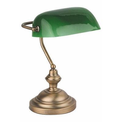 Lampe de bureau Banquier bronze 60 W - FARO - 68333 FARO