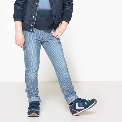 Pantaloni a righe da 3 a 12 anni La Redoute Collections