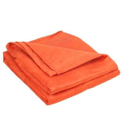 jete de canape orange en solde la redoute. Black Bedroom Furniture Sets. Home Design Ideas