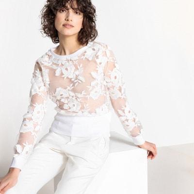 Lace Sweatshirt MADEMOISELLE R