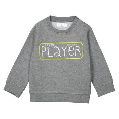 Sweatshirt mit rundem Ausschnitt - 1 Monat-3 Jahre Sweatshirt mit rundem Ausschnitt - 1 Monat-3 Jahre La Redoute Collections