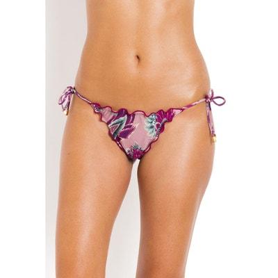 VIX PAULA HERMANNY Bas de Bikini empiècement jute Vente Pas Cher Meilleur Prix De Vente Pas Cher Traite La Vente En Ligne Qualité Supérieure Réduction À Faible Frais D'expédition q5Up65
