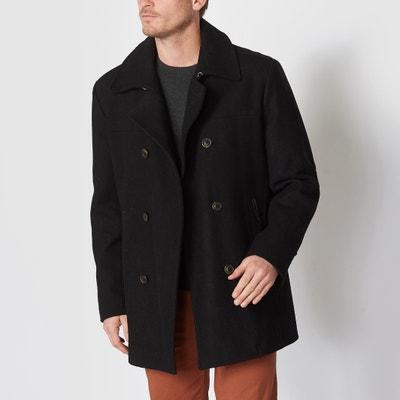 Caban in panno di lana CASTALUNA FOR MEN