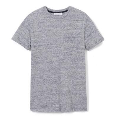 Camiseta jaspeada 10-16 años La Redoute Collections