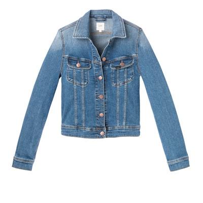 Straight Cut Denim Jacket LEE