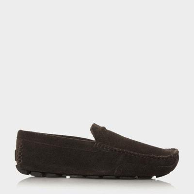 Chaussures de conduite en daim avec doublure en fausse fourrure - FURLONG DUNE  LONDON 27883ac1d8a1