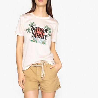 Tee shirt manches courtes sérigraphié MAISON SCOTCH