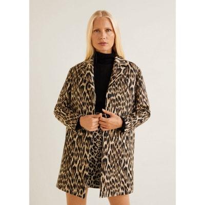 Manteau déstructuré léopard Manteau déstructuré léopard MANGO 7e230b8a9258