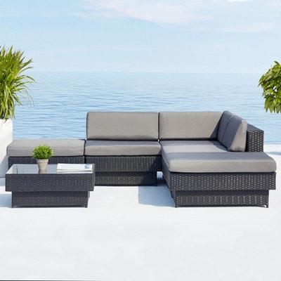 Salon de jardin angle en solde | La Redoute