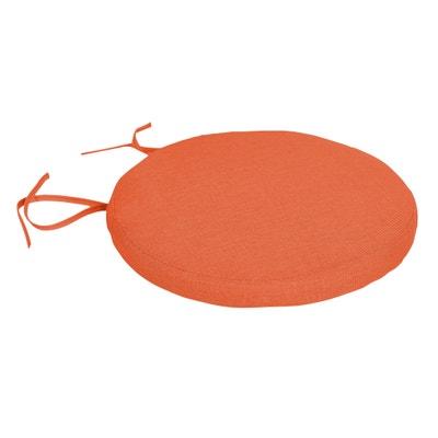 Confezione da 2 cuscini da sedia rotondi sfoderabili SUNAE La Redoute Interieurs