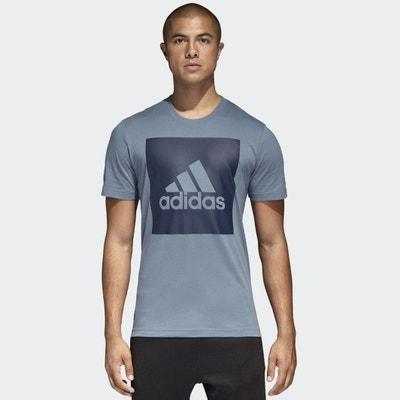 Crew Neck T-Shirt with Logo ADIDAS PERFORMANCE