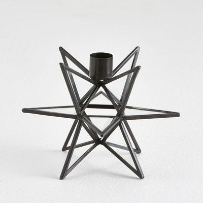 Bougeoir métal et verre, Estello La Redoute Interieurs
