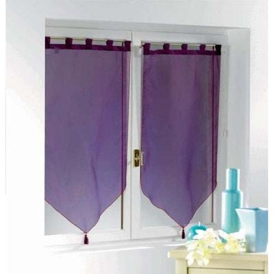 Rideau violet et gris | La Redoute