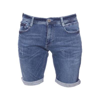 06cea600dcc98 Short en jean Freeman T. Porter Jimmy S-SDM effet usé Short en jean